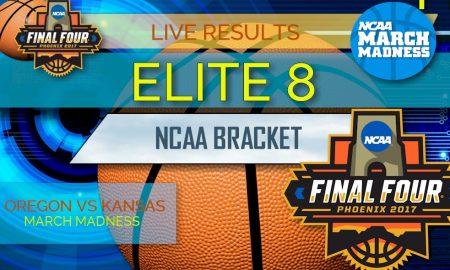 Elite 8 Bracket: NCAA Tournament Elite 8 - Oregon vs Kansas
