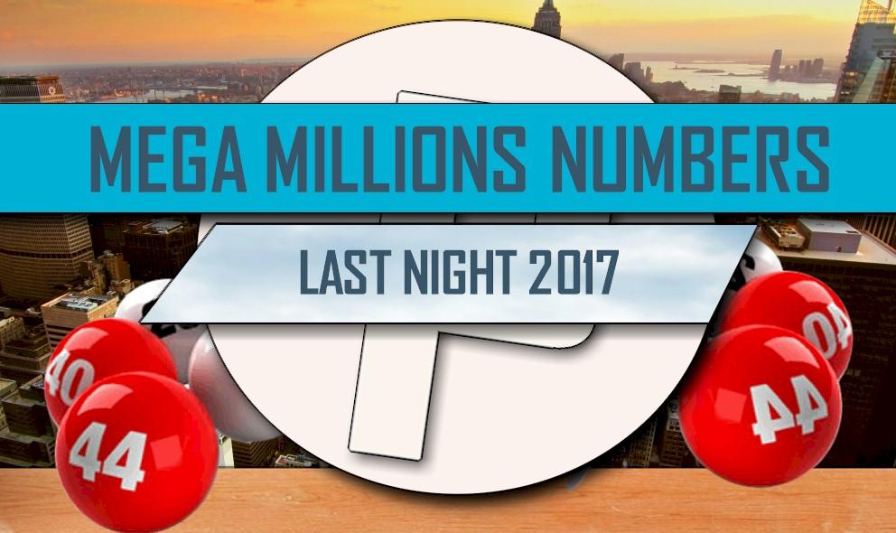 Mega Millions Winning Numbers Last Night 2017: Draw Rolls ...