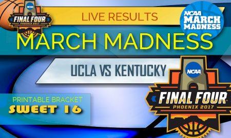 UCLA vs Kentucky Score 2017: March Madness Sweet 16 Results