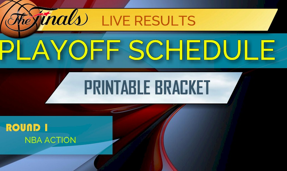 picture regarding Nba Printable Bracket named NBA Playoff Bracket Printable 2017: NBA Playoff Routine