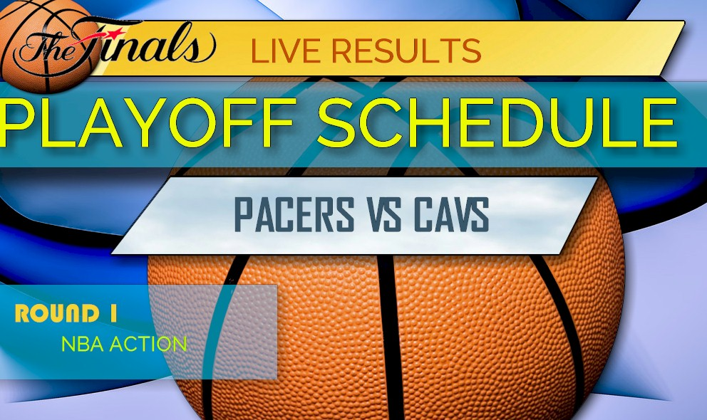photo relating to Cavs Printable Schedule referred to as Pacers vs Cavs Ranking: NBA Ratings, NBA Basketball Playoff Bracket