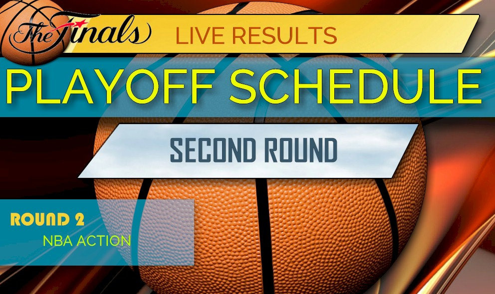 picture about Nba Playoff Printable Bracket called NBA Playoff Bracket 2017 2nd Spherical Printable Timetable