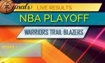 Warriors vs Trail Blazers Score: NBA Playoff Bracket, Printable