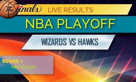 NBA Playoff Bracket Printable: Wizards vs Hawks Score