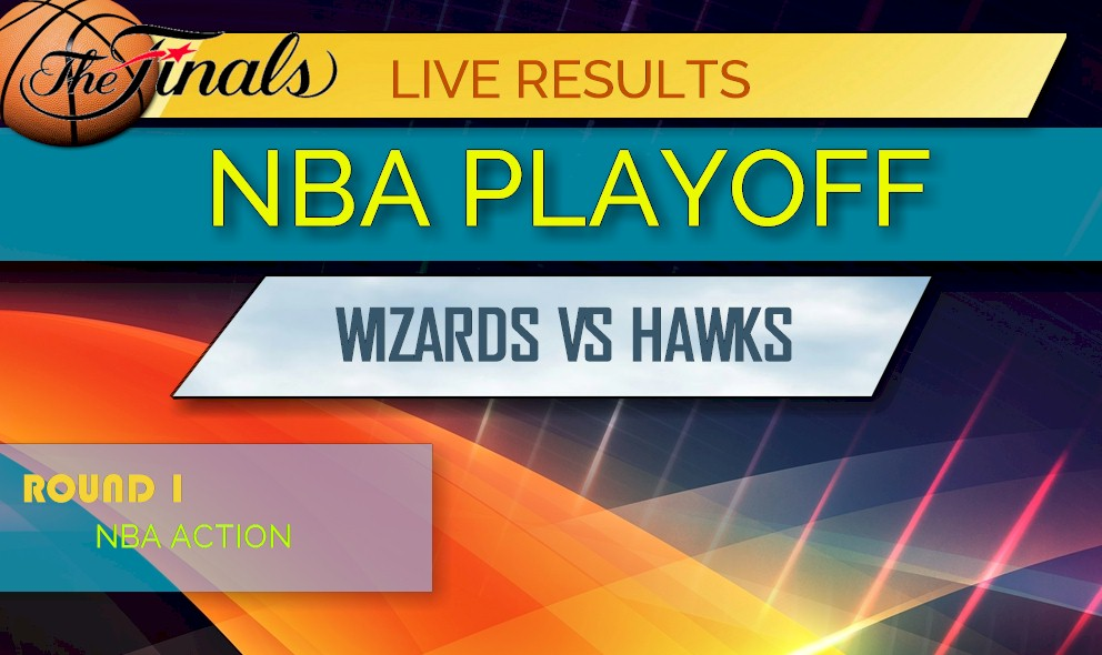 photograph regarding Nba Printable Bracket named NBA Playoff Bracket Printable: Wizards vs Hawks Ranking