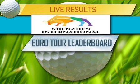 Shenzhen International Leaderboard 2017 Golf Score Results