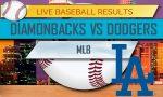 Diamondbacks vs Dodgers Score 2017: MLB Score Results Tonight