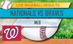 Nationals vs Braves Score: MLB Score Results