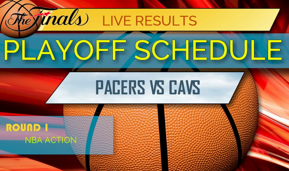 photograph relating to Nba Printable Bracket referred to as Pacers vs Cavs Ranking: NBA Rankings, NBA Playoff Bracket Printable