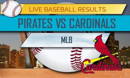 pirates vs cardinals score