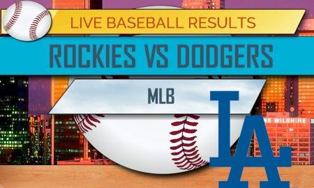 Rockies vs Dodgers Score: MLB Baseball Results