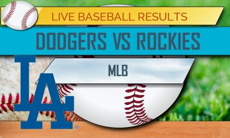 Dodgers vs Rockies Score: MLB Baseball Results Tonight