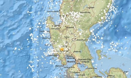 Philippines Earthquake Today 2017 Strikes On Land