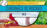 Cardinals vs Rockies Score 2017: MLB Baseball Results