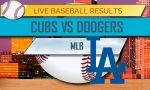 Cubs vs Dodgers Score: MLB Baseball Score Results