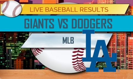 Giants vs Dodgers Score 2017: MLB Baseball Results