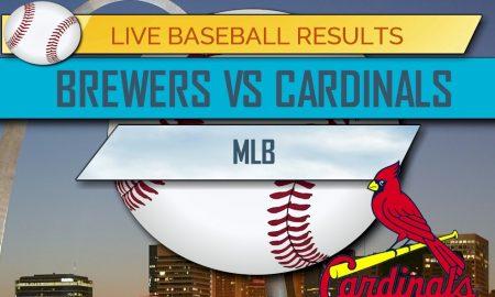Brewers vs Cardinals 2017 Score: MLB Baseball Results Tonight