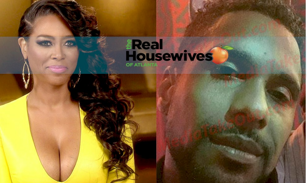 Real Housewives of Atlanta star Kenya Moore and her real life husband Mark Daly
