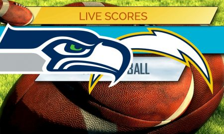 nfl score odd chargers and seahawks score