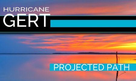 Hurricane Gert Projected Path: National Hurricane Center