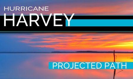 Hurricane Harvey Projected Path: National Hurricane Center