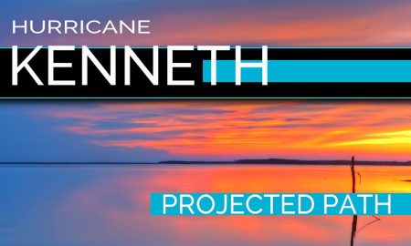 Hurricane Kenneth Projected Path: National Hurricane Center