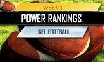 ESPN NFL Power Rankings Week 3 September 19 Football Standings
