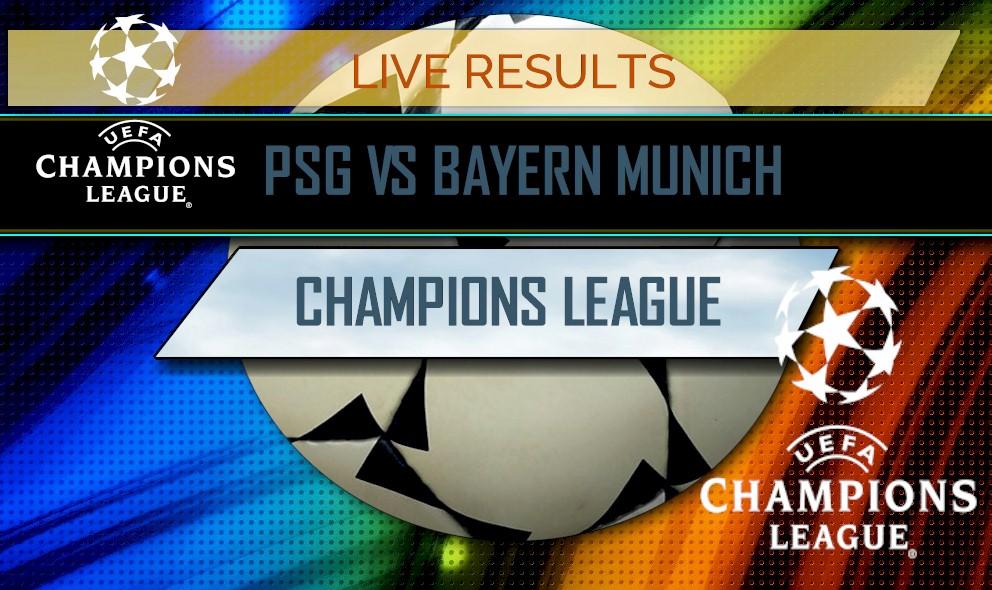 PSG vs Bayern Munich Score: Champions League Results