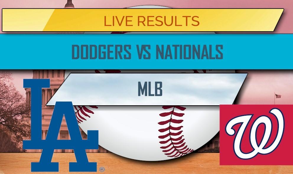 Dodgers vs Nationals Score: MLB Results