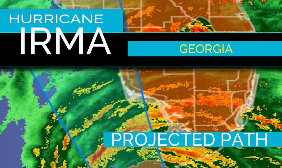 Hurricane Irma Projected Path Update: Georgia, Alabama