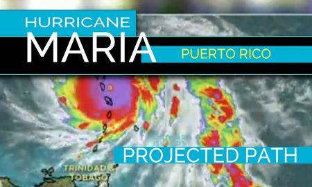 Puerto Rico Huracán Maria Trayectoria Proyectada En Vivo 2017