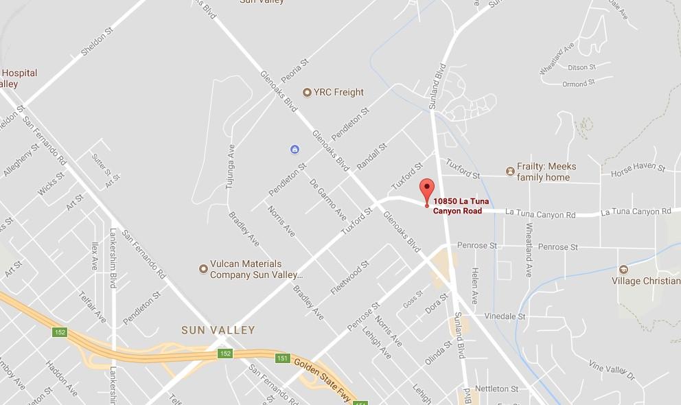Current La Fire Map.La Tuna Fire Map Glendale Fire Burbank Fire Sunland Tujunga