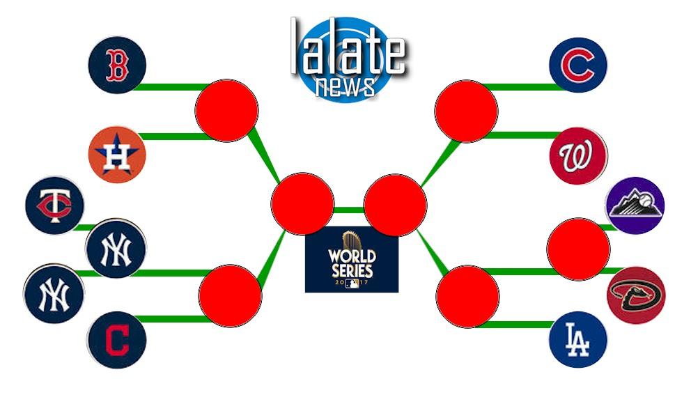 image relating to Mlb Playoff Bracket Printable called MLB Playoff Bracket Printable 2017: MLB Playoffs Agenda
