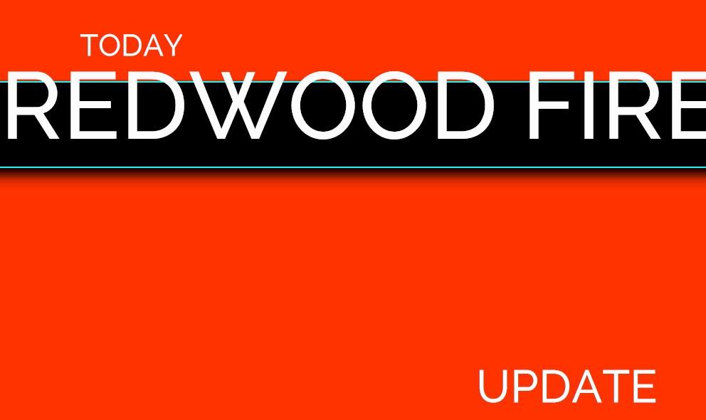 Redwood Fire, Potter Fire: Mendocino Fire Map 2017, Black Bart