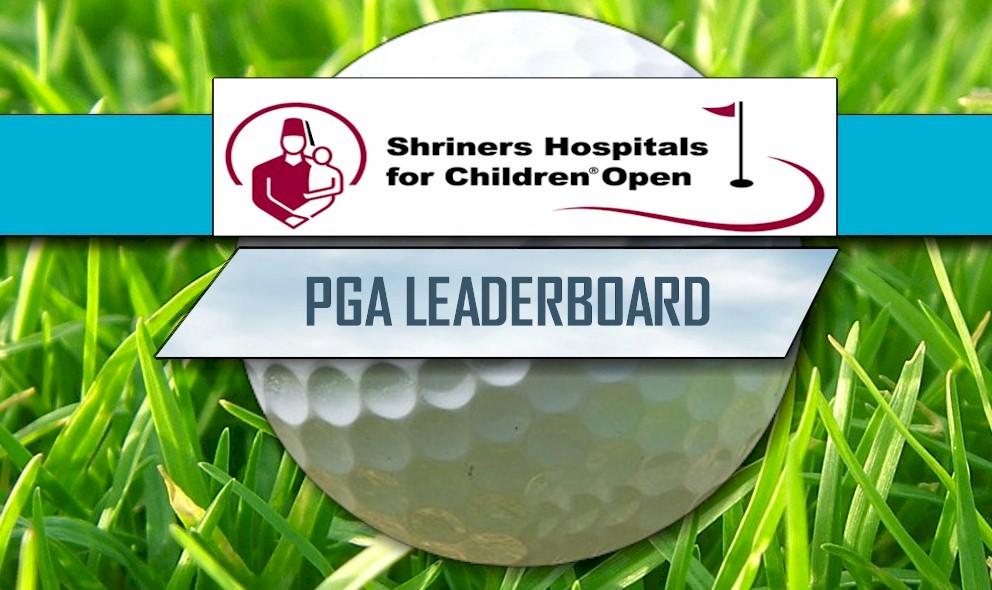 PGA Leaderboard 2017: Shriners Hospitals for Children Open