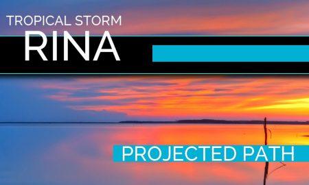 Hurricane Rina? Tropical Storm Rina Projected Path