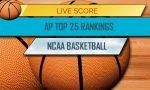 AP Top 25 College Basketball Rankings Week 6 Standings 12/11