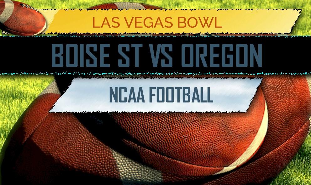 boise state vs oregon score las vegas bowl