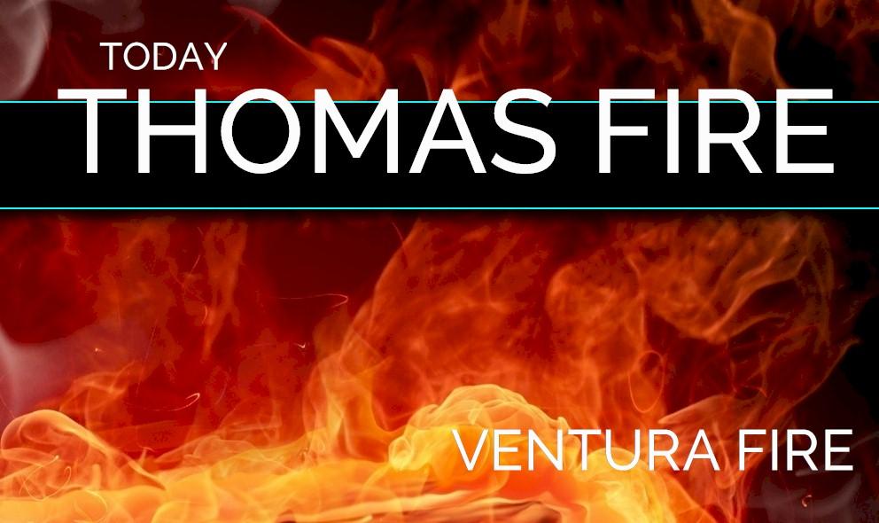 Thomas Fire Map Update: Thomas Fire Evacuation Zone Map