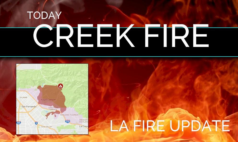 Creek Fire Evacuation Zone Map La Fire Sylmar Fire Evacuation