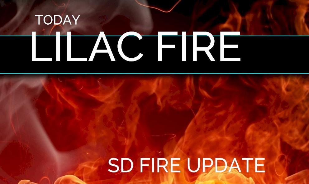 Lilac Fire Evacuation Zone Map Update: Bonsall Fire San Diego