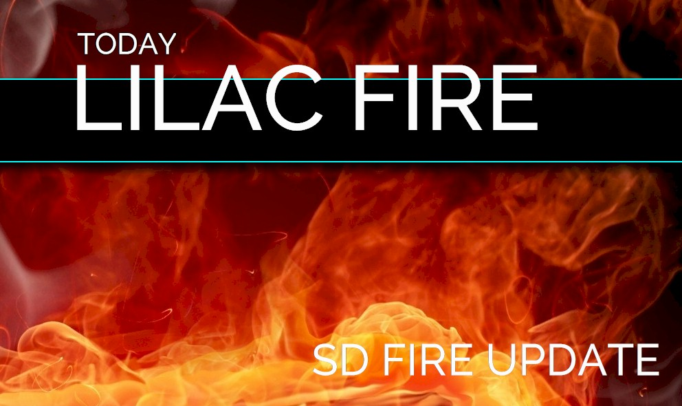 Lilac Fire 2017 San Diego Fire Evacuation Zone Map