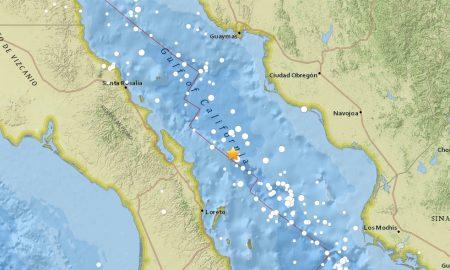 Mexico Earthquake: Mexico Sismo, Terremoto: Gulf of California