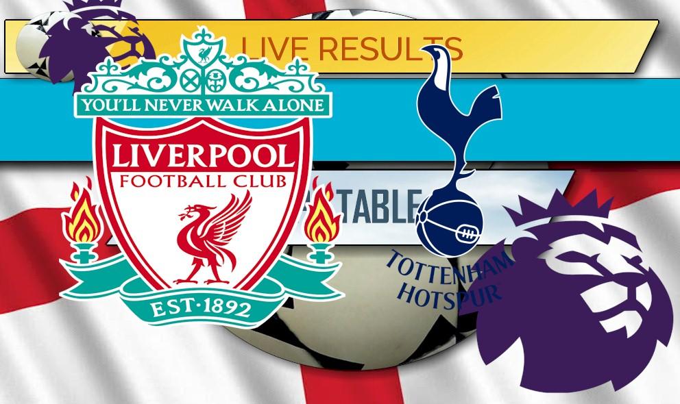 Liverpool Vs Tottenham Results