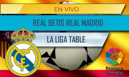 Real Betis vs Real Madrid En Vivo Score: La Liga