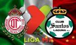 Toluca vs Santos Laguna En Vivo Score: Liga MX Table