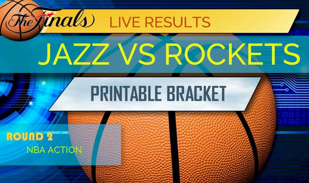 Jazz vs Rockets Score: NBA Playoffs Results Today Rockets Score