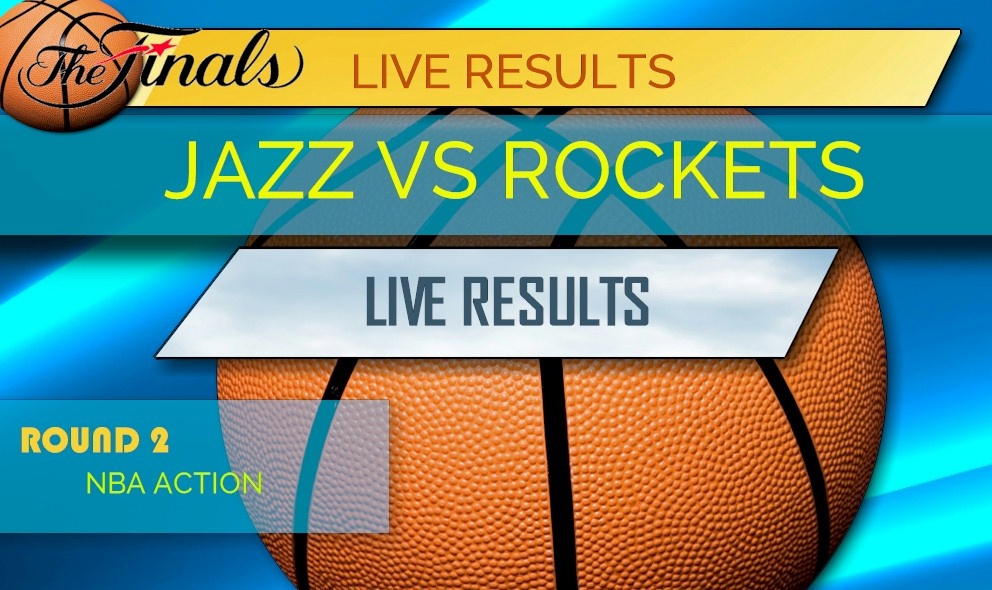 Jazz vs Rockets Score Game Five: NBA Playoffs Results Tonight Rockets Score