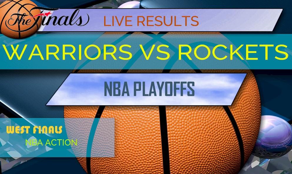 Warriors vs Rockets Score Game 5: NBA Playoffs Results Rockets Score