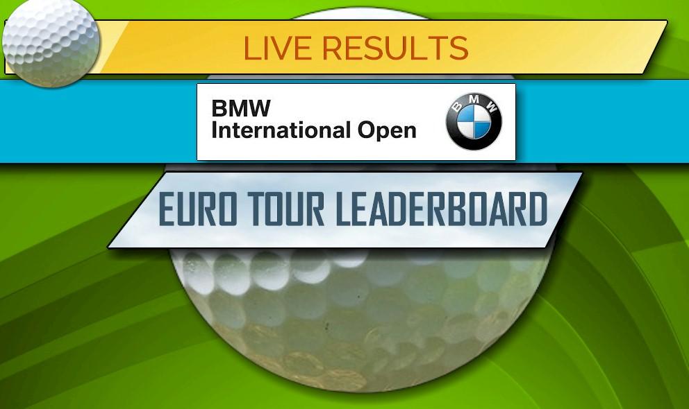 bmw international open leaderboard golf score updates
